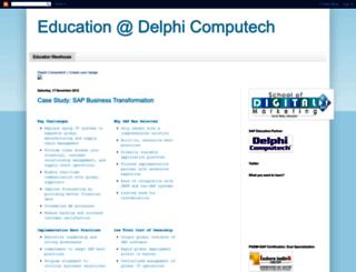 educationatdelphi.blogspot.in screenshot