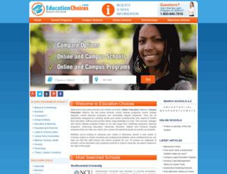 educationchoices.com screenshot