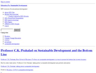 educationforsustainabledevelopment.com screenshot