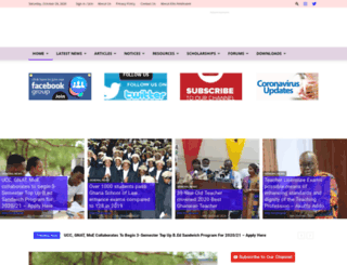 educationghana.net screenshot