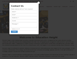 educationheight.com screenshot