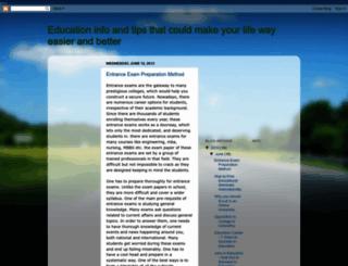 educationinfotipsmakeyourlifeeasier.blogspot.com screenshot