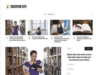 educationkeys.com screenshot