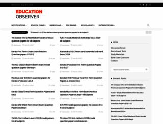 educationobserver.com screenshot