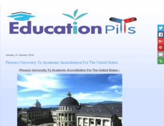 educationpills.com screenshot
