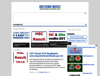 educationresult24.com screenshot