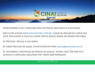 educativo.cinai.com.br screenshot