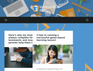 educator.mangahigh.com screenshot