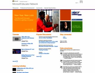 educatornetwork.com screenshot