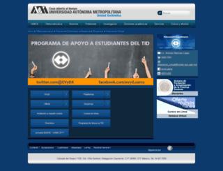 educavirtual.xoc.uam.mx screenshot