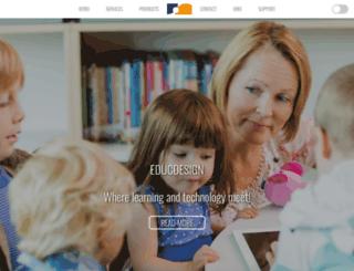 educdesign.lu screenshot