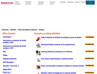 educh.ch screenshot