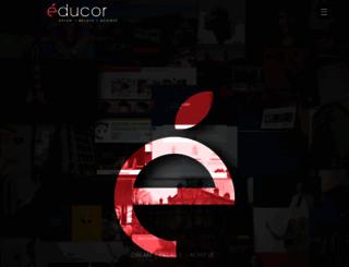 educor.co.za screenshot