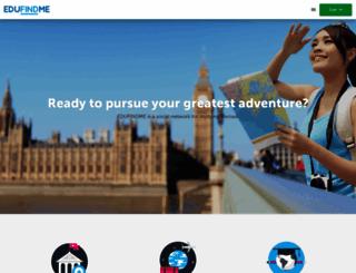 edufindme.com screenshot
