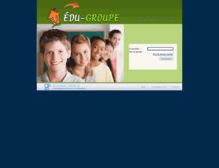 edugroupe.cslsj.qc.ca screenshot