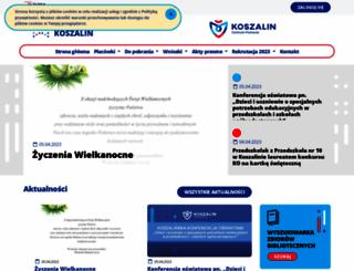 edukacja.koszalin.pl screenshot