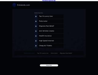 edulands.com screenshot