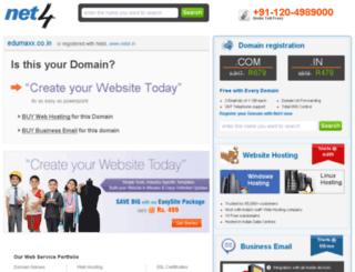 edumaxx.co.in screenshot