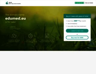 edumed.eu screenshot