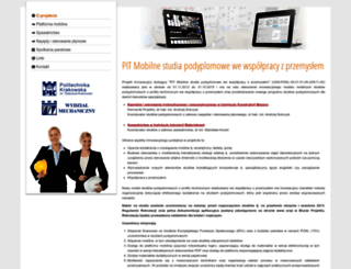 edumobile.pk.edu.pl screenshot