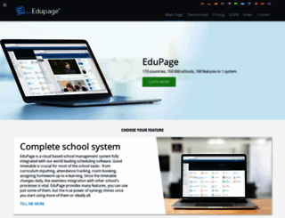 edupage.org screenshot