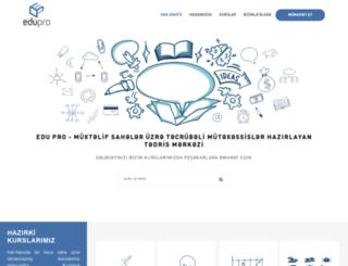 edupro.az screenshot