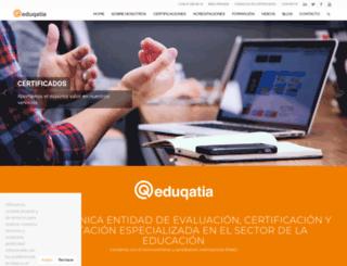 eduqatia.com screenshot