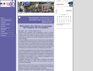 eduroute.ac-rouen.fr screenshot