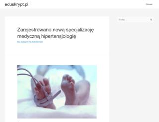 eduskrypt.pl screenshot