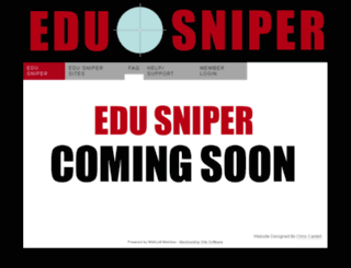 edusniper.com screenshot