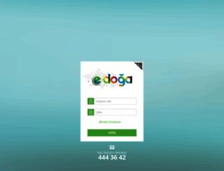 edusoft.dogakoleji.com screenshot