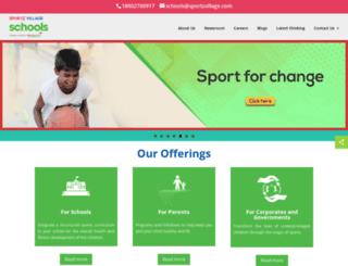 edusports.in screenshot