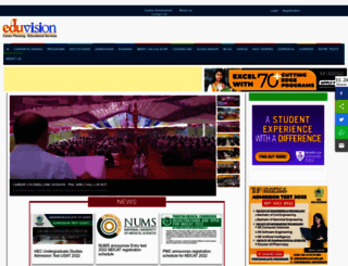 eduvision.edu.pk screenshot