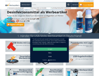 edv-werbeartikel.de screenshot