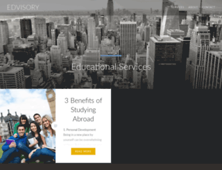 edvisory.com screenshot