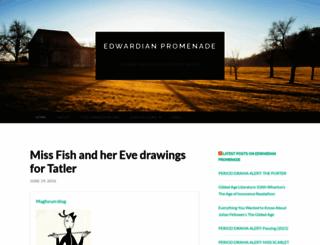 edwardianpromenade.wordpress.com screenshot