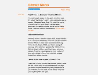 edwardmarks.com screenshot