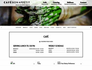 edwards.cafebonappetit.com screenshot