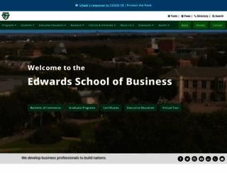 edwards.usask.ca screenshot