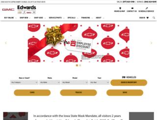 edwardschevroletcadillac.net screenshot