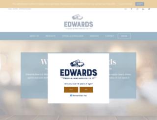 edwardsdrinks.com screenshot