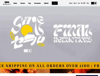 edwin-europe.com screenshot