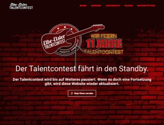 ee-talentcontest.de screenshot