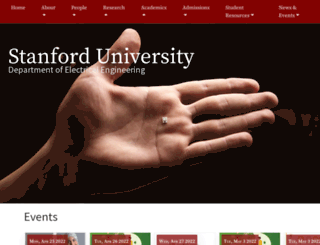 ee.stanford.edu screenshot
