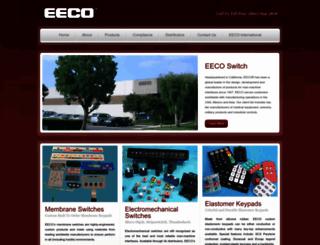 eecoswitch.com screenshot