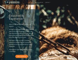 eeden.org screenshot
