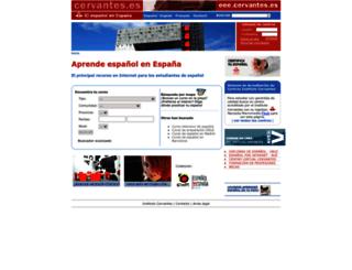 eee.cervantes.es screenshot