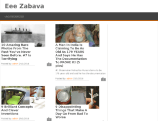 eeezabava.com screenshot