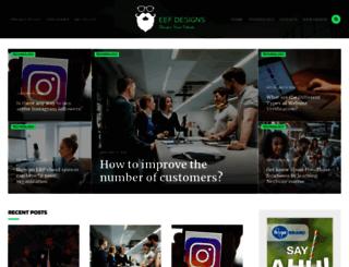 eefdesigns.com screenshot