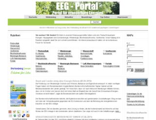 eeg-portal.de screenshot